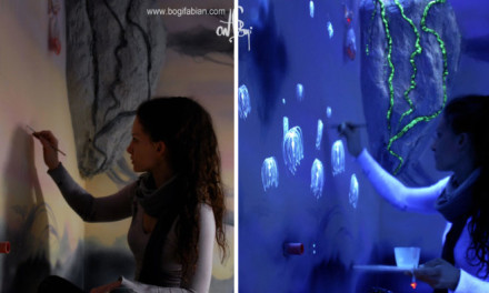 Glowing Murals Turns a Room into a Dreamy world