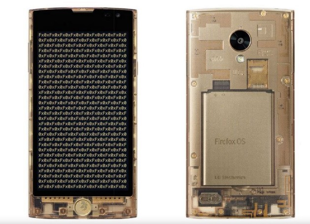 The First FIREFOX OS phone