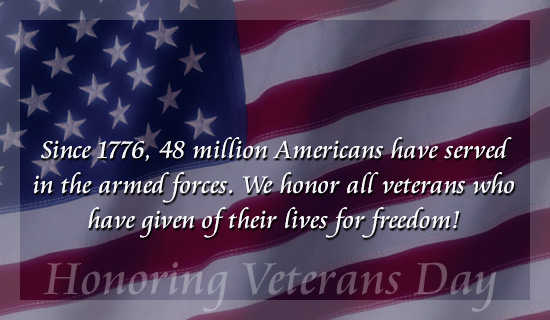 Veterans Day 2015 – A free cup of coffee is nice, but justice is best.