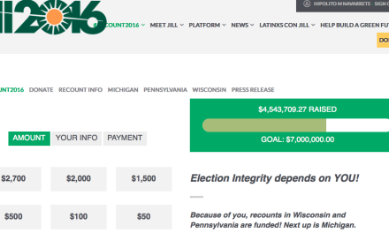 DR. JILL STEIN M.D., MAY BE THE HEROINE OF THIS ELECTION