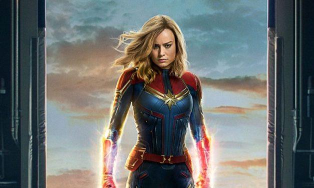 Captain Marvel is Already Slaying Trolls