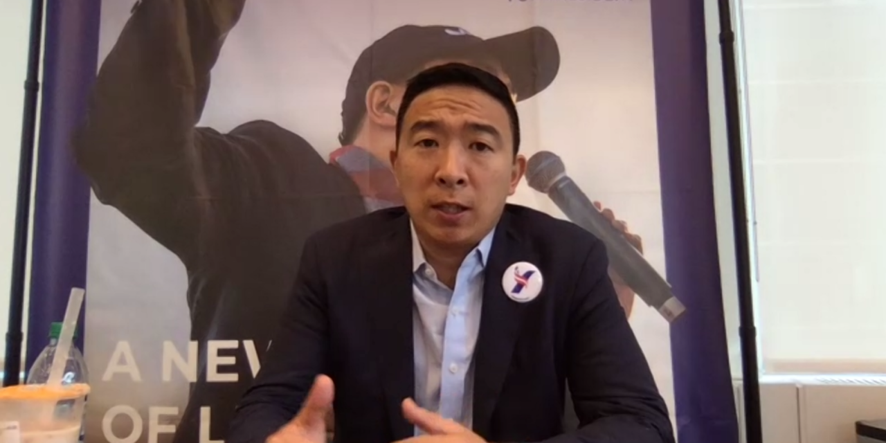 Andrew Yang brings presidential campaign to ethnic media
